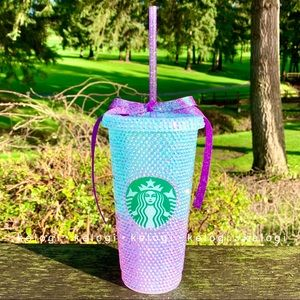 ✨NEW✨Starbucks Ombre Blue to Pink Unicorn Cup